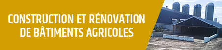 construction rénovation bâtiments agricoles